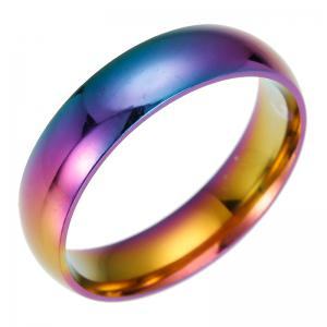 Fashion Stainless Steel Colorful Rings -