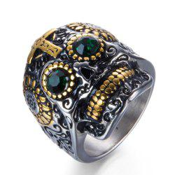 Fanshion Cross Male Punk Ring -
