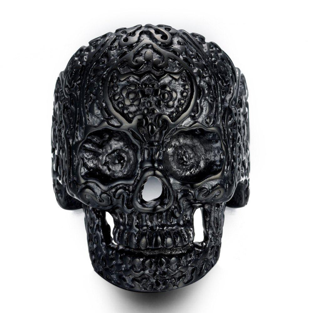 Shop Fanshion Cross Male Punk Ring
