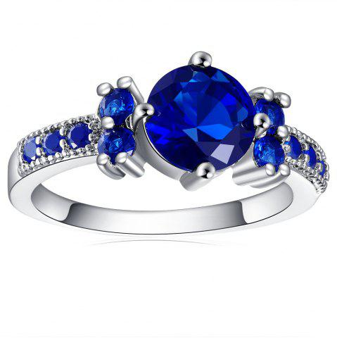 Outfit Stylish Elegant Sapphire Ring