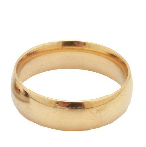 Fashion Gold-Plated Titanium Gold-Plated Ring King Ring