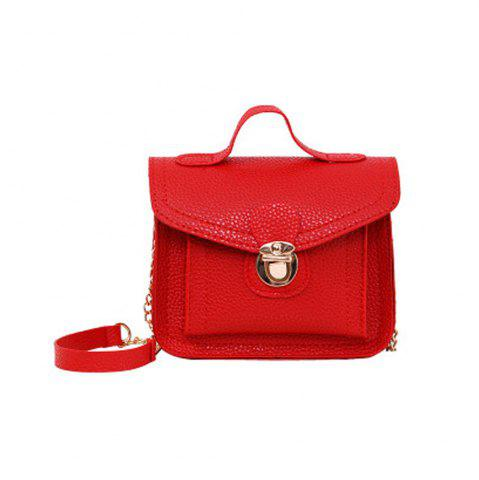 Shop Women's Handbag Plain Style Ladylike All Match Fashionable Bag