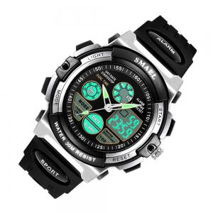 Multi-function Waterproof Durable Sport LED Electronic Watch -