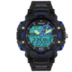 SMAEL 1379 Fashion Multi-function Waterproof Electronic Watch for Men -