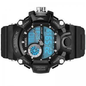 SMAEL 1385 Multi-function Durable Waterproof Electronic Outdoor Sport LED Watch -