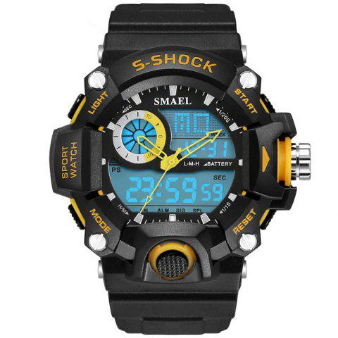 Trendy SMAEL 1385 Multi-function Durable Waterproof Electronic Outdoor Sport LED Watch