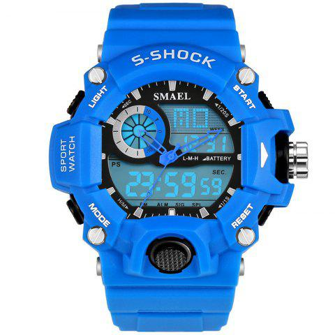 Unique SMAEL 1385 Multi-function Durable Waterproof Electronic Outdoor Sport LED Watch