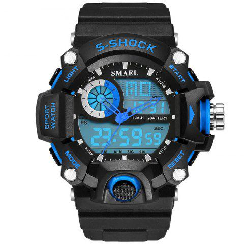 Shops SMAEL 1385 Multi-function Durable Waterproof Electronic Outdoor Sport LED Watch