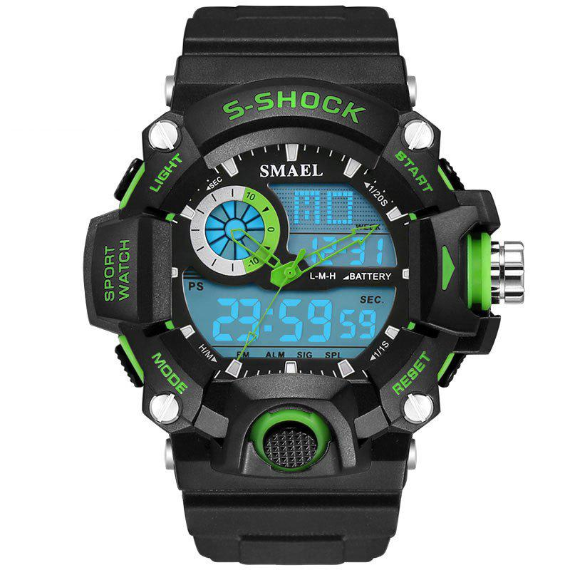 Best SMAEL 1385 Multi-function Durable Waterproof Electronic Outdoor Sport LED Watch