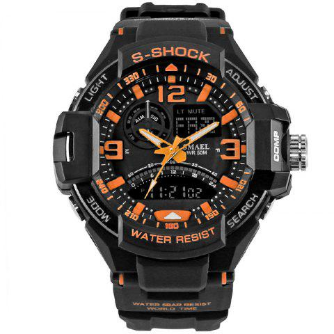 Outfits SMAEL 1516 Multi-function Waterproof Durable Outdoor Sport LED Watch