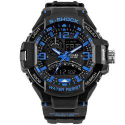SMAEL 1516 Multi-function Waterproof Durable Outdoor Sport LED Watch -