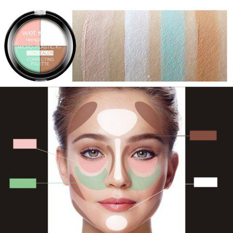 Latest HengFang Concealer Highlight Bronzer Palette