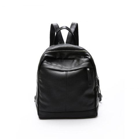 Unique New Pu Fashion Personality Backpack Handbag Mummy Bag