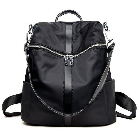 Outfits Female Soft Leather Schoolbag Fashion Collocation Amphibious Travel Bag Backpack