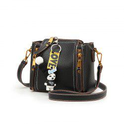 Bai Li 072 Mini Diagonal Bucket Bag -