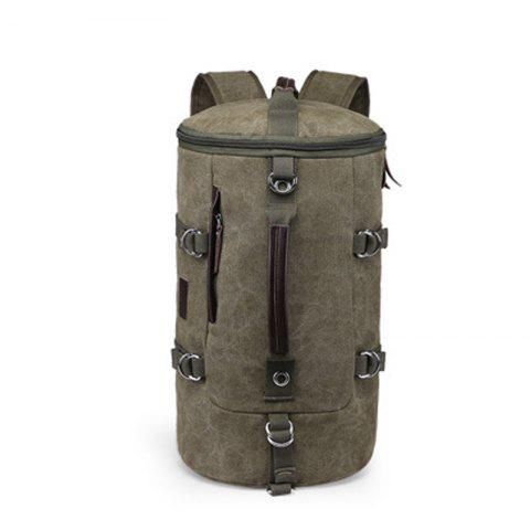 Sale Multifunctional Canvas Shoulder Bag Portable Travel Bag Messenger Casual  Cackpack Drum Backpack Computer Bag school bag