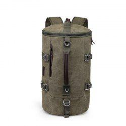 Multifunctional Canvas Shoulder Bag Portable Travel Bag Messenger Casual  Cackpack Drum Backpack Computer Bag school bag -