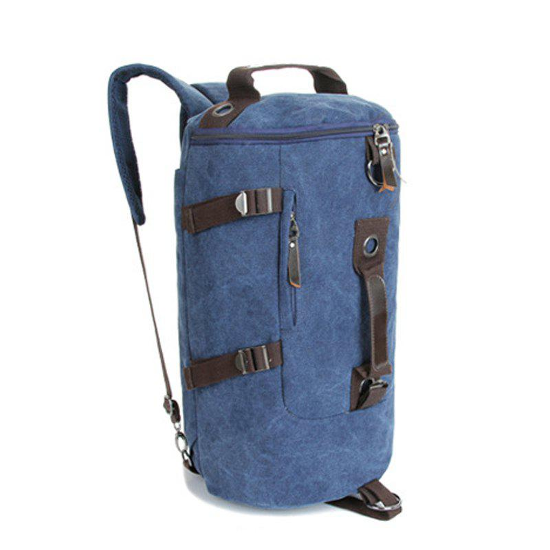 Store Multifunctional Canvas Shoulder Bag Portable Travel Bag Messenger Casual  Cackpack Drum Backpack Computer Bag school bag