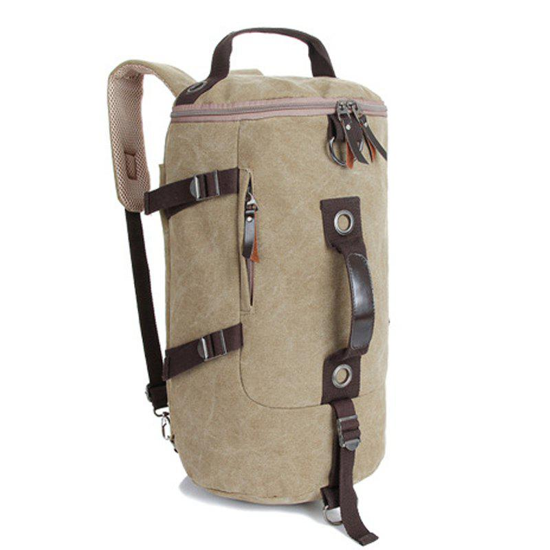 Hot Multifunctional Canvas Shoulder Bag Portable Travel Bag Messenger Casual  Cackpack Drum Backpack Computer Bag school bag