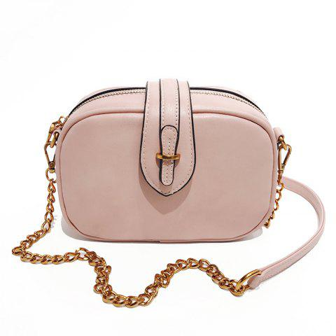 Discount Shoulder Messenger Handbag Oval Buckle Exquisite Wild Retro Casual Small Bag