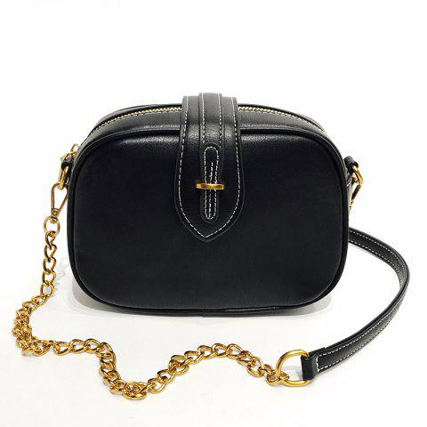 Affordable Shoulder Messenger Handbag Oval Buckle Exquisite Wild Retro Casual Small Bag