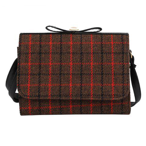 Buy Cute Square Plaid Students Small Square Female Fashion Shoulder Bag Messenger Bag Women
