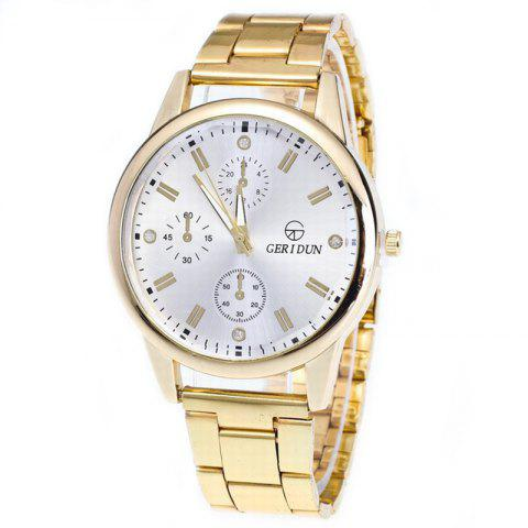 Chic Fashion Men Quartz Business Watch