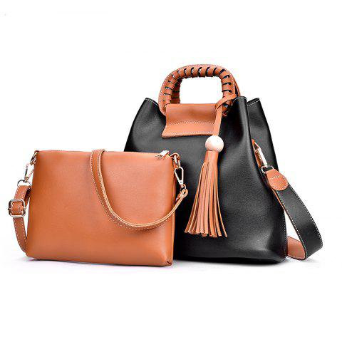 Fashion 2018 New Mother Bag Collision Color Commuter Bag Female Large Package
