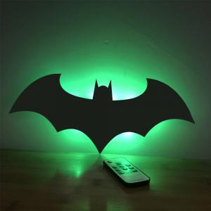 Colorful Remote  Shadow Projection Lamp LED  Night Light -