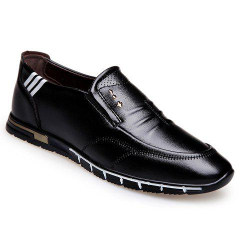 Trendy Outdoor Leisure Leather Shoes