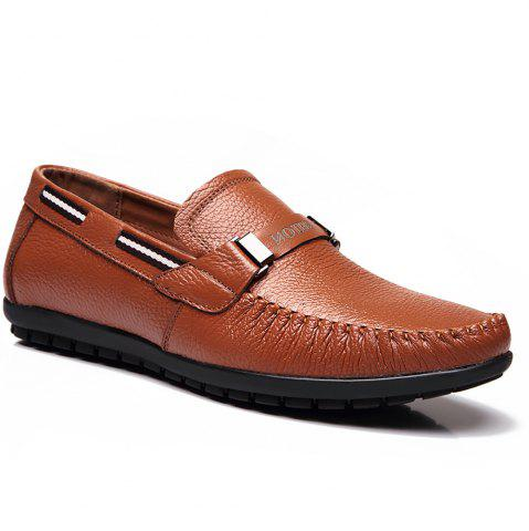 Trendy Leather Casual Doug Shoes