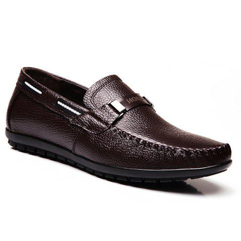 Hot Leather Casual Doug Shoes