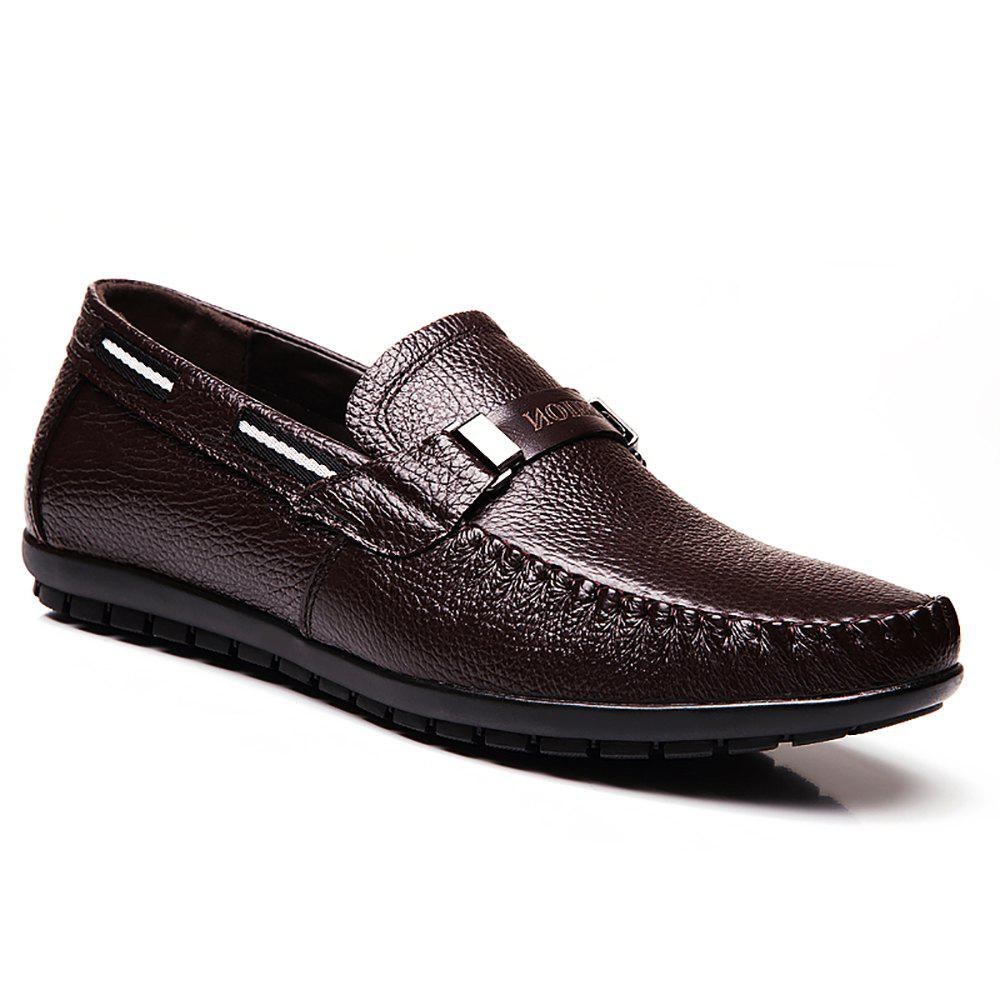 Discount Leather Casual Doug Shoes