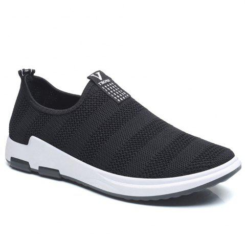 Trendy Net Cloth Sports Casual Single Shoes
