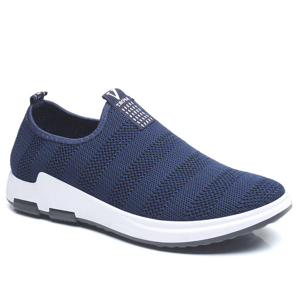 Fancy Net Cloth Sports Casual Single Shoes
