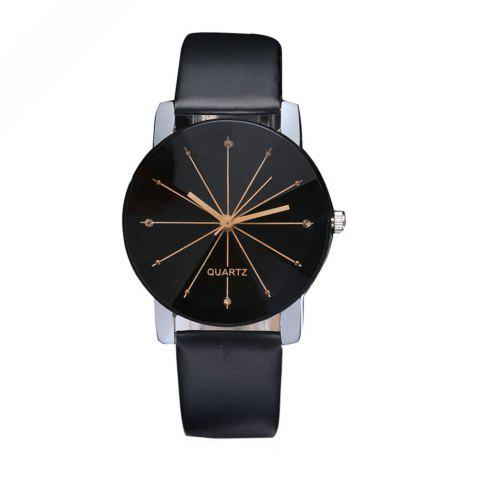 Outfits Men Trendy Simple Design Waterproof Watch