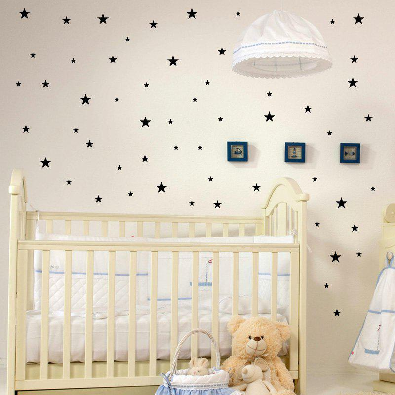 Stars Pattern Vinyl Wall Art Decals Nursery Room Decoration Stickers For Kids Rooms Home Decor