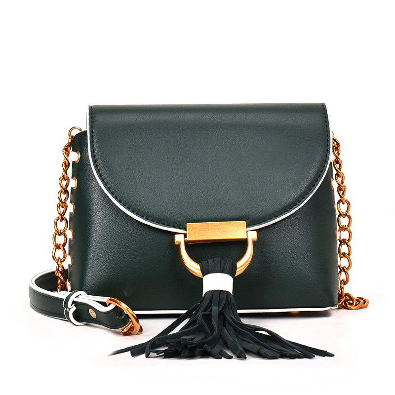 Online Messenger Shoulder Bag Female Fashion Tassel Bag