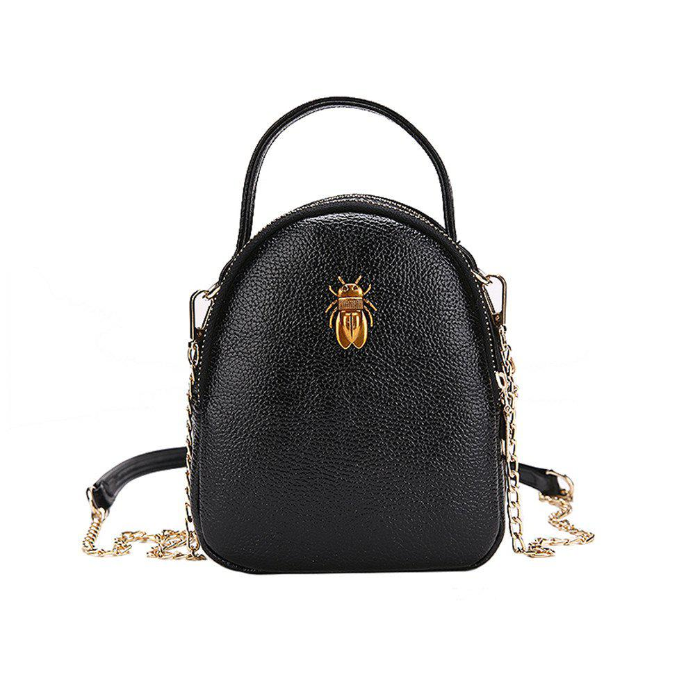 Sac à bandoulière portatif sauvage occasionnel de messager femelle Multi-Layer Mobile Handbags