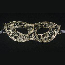 Fashion sexy eye mask prom dress costume ladies gift party lace hot gold flat-head masks -