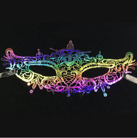 Sale New Festival Rave Dance Stereotypes Lace Hot Color Head Mask