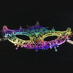 New Festival Rave Dance Stereotypes Lace Hot Color Head Mask -