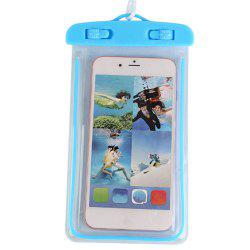 Luminous Mobile Phone Waterproof Bag -