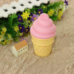 Cute Pink Ice Cream Shape Children Sleep Bedroom Decoration Lamp Night Light -