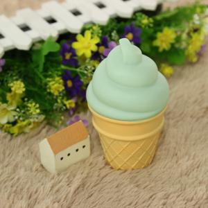 Cute Green Ice Cream Shape Children Sleep Bedroom Decoration Lamp Night Light -