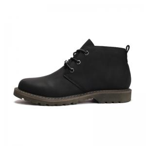 Boots Solid Color Durable Comfy Lacing Shoes -