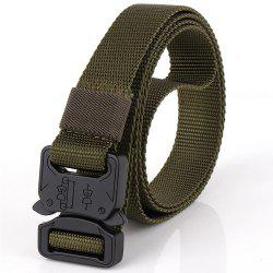 Men Tactical Cobra Deduction Outside The Belt Nylon Outdoor Training Belt -