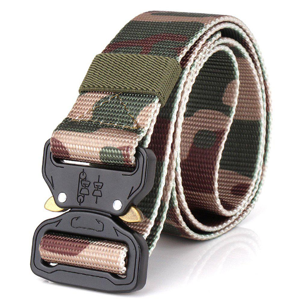 Latest Men's Casual Outdoor Military Tactical Polyester Waistband Canvas Web Belt
