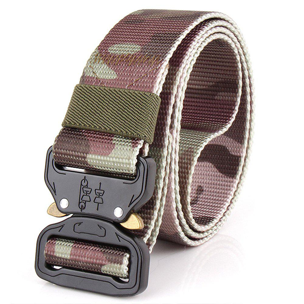 Shop Men's Casual Outdoor Military Tactical Polyester Waistband Canvas Web Belt