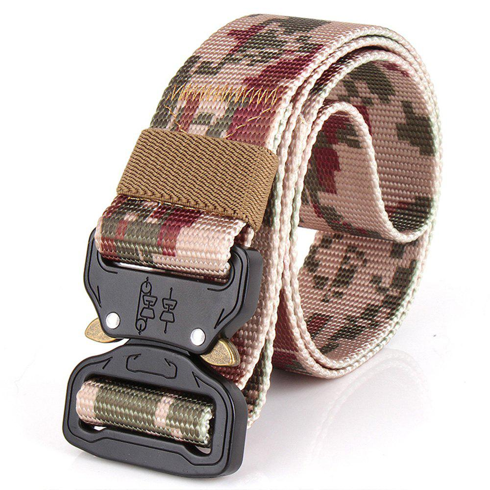 Affordable Men's Casual Outdoor Military Tactical Polyester Waistband Canvas Web Belt